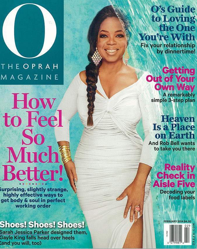 O Magazine: My TV-Watching Injury