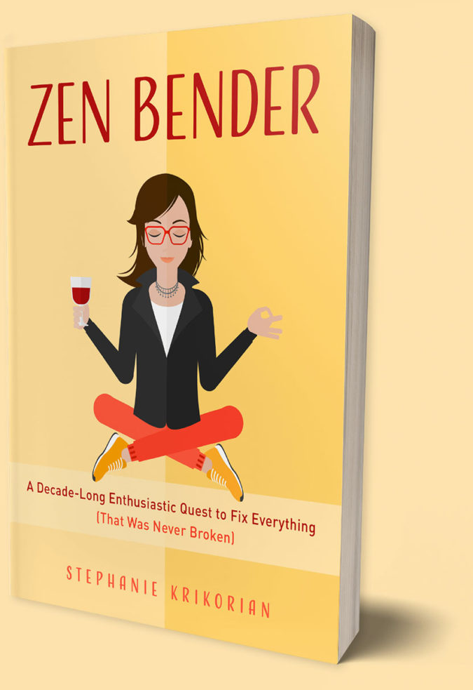 cover of Zen Bender book
